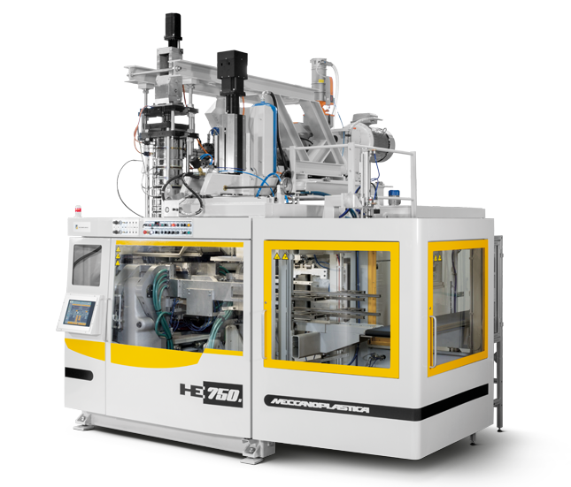 Extrusion Blow Moulding and extrusion Blow Molding - HE750