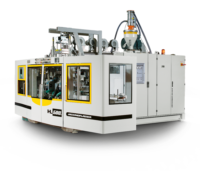 Extrusion Blow Moulding and extrusion Blow Molding - HL500D