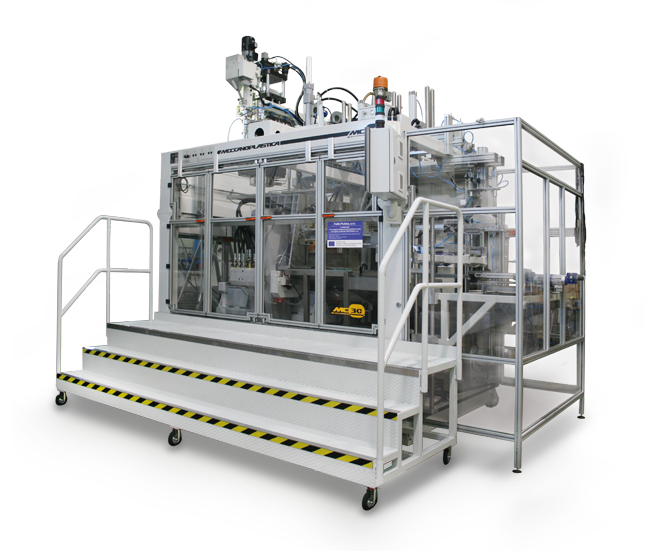Extrusion Blow Moulding and extrusion Blow Molding - MECS10000s
