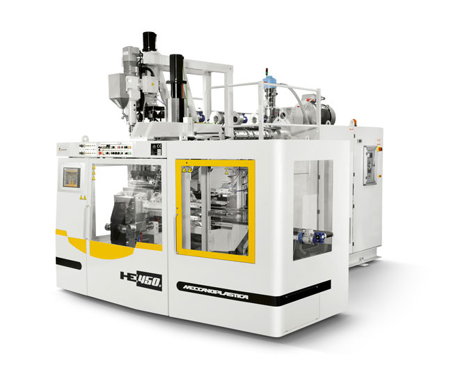 Extrusion Blow Moulding and extrusion Blow Molding - HE450S